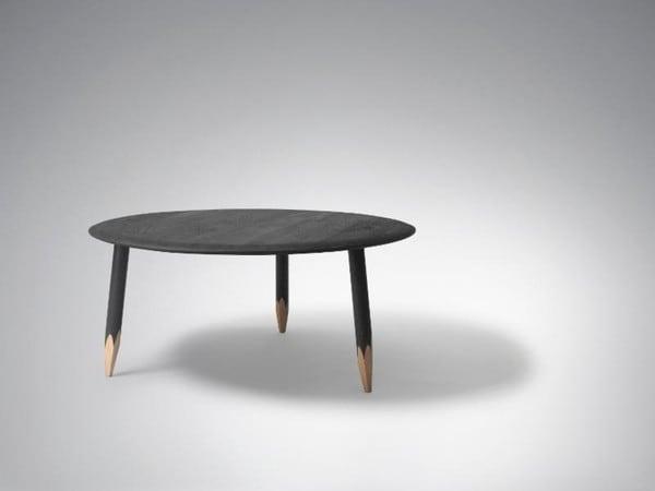 &tradition Hoof Lounge Table SW2 TN 72019094 Schwarz