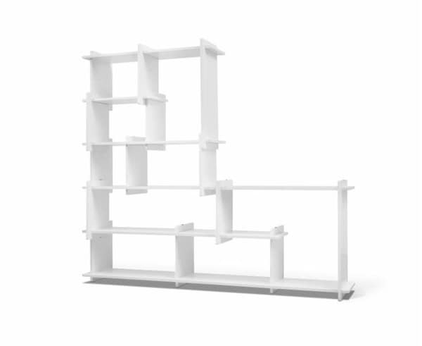 &tradition Slice Book Shelf KB2 Medium TN 11100230 Weiß