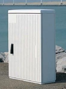 Sidewalk cabinets