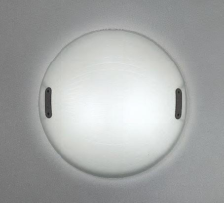 Artemide Zsu-zsu Decke- oder Wandleuchte AR C243400 Opalglas