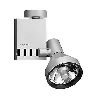 Flos Architectural Compass Spot Ceiling Vertical Gear Box QT-12 DALI AN 03.3307.02.DA Grau