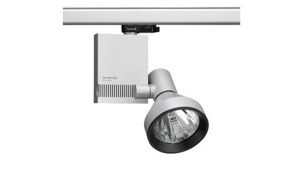 Flos Architectural Compass Spot Track Vertical Gear Box QT-12 DALI AN 03.3606.14.DA Mattiert Schwarz