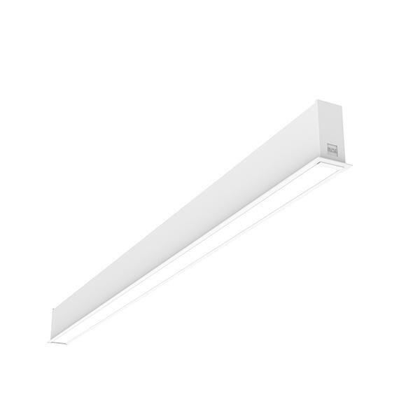 Flos Architectural In-Finity 35 Recessed Trim Micro-Prismatic Diffuser Dali AN N35T194U30BDA Weiß