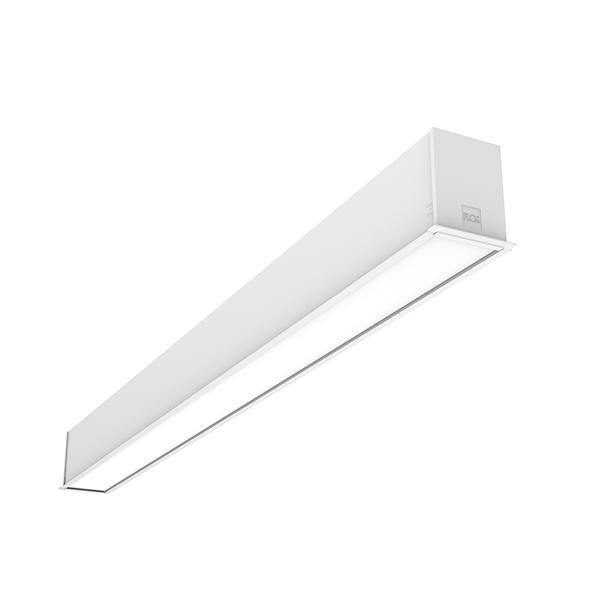 Flos Architectural In-Finity 70 Recessed Trim Micro-Prismatic Diffuser Dali AN N70T084U30BDA Weiß