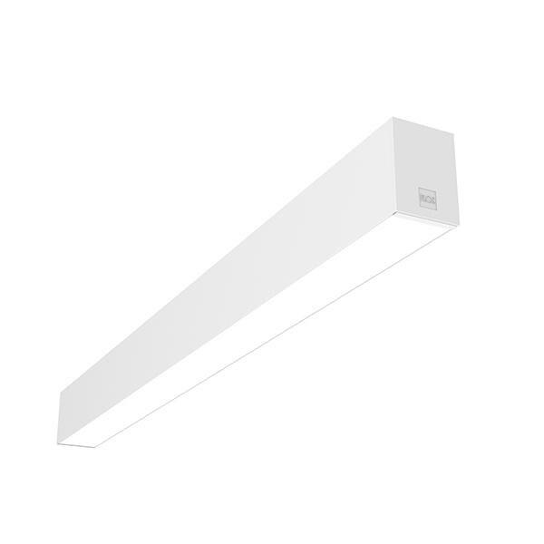 Flos Architectural In-Finity 70 Surface Micro-Prismatic Diffuser Dali AN N70S304U30BDA Weiß