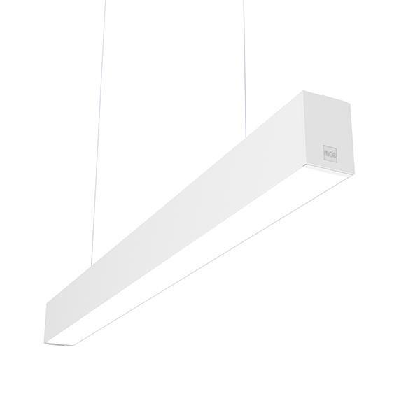 Flos Architectural In-Finity 70 Suspension Down Micro-Prismatic Diffuser Dali AN N70D054U30BDA Weiß