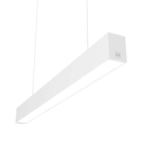 Flos Architectural In-Finity 70 Suspension Down Micro-Prismatic Diffuser Dali AN N70D084U30BDA Weiß