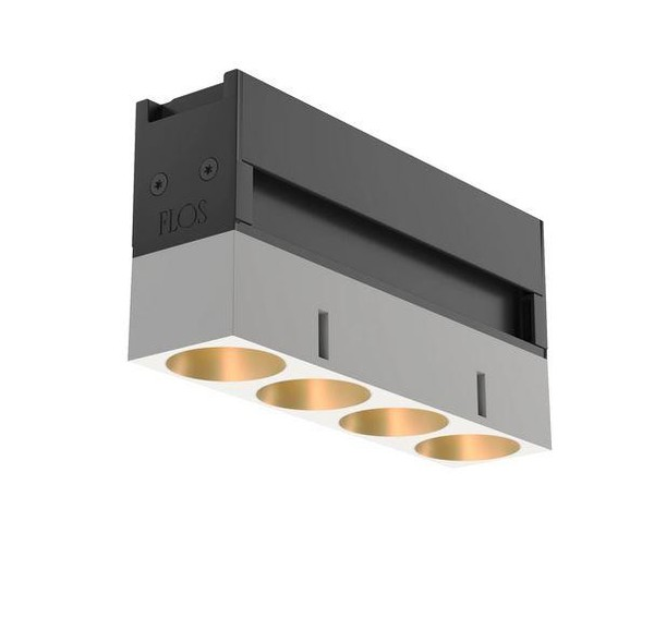 Flos Architectural Light Shadow LED Lighting Module AN 03.9633.40A Gold / Weiß