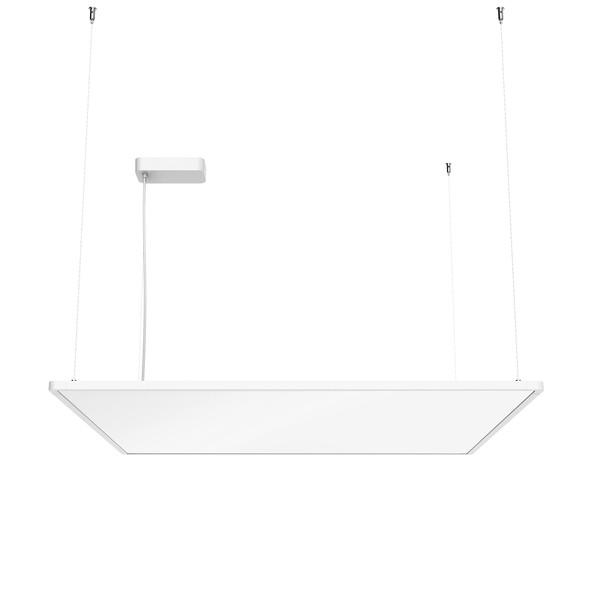 Flos Architectural Super Flat Suspension 90×90 Up&Down Dali Version AN 09.5025.30BDA Weiß