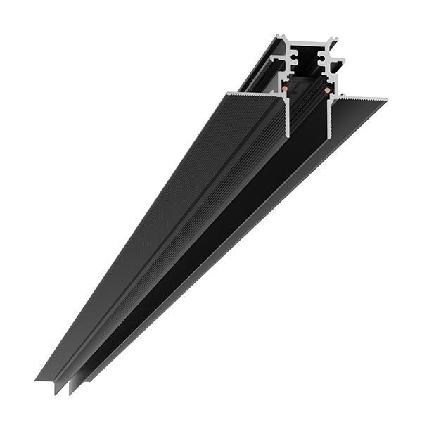 Flos Architectural The Tracking Magnet Profile Recessed Dali/1-10V/Flos Smart Control Dimmable AN 06.5042.14 Schwarz