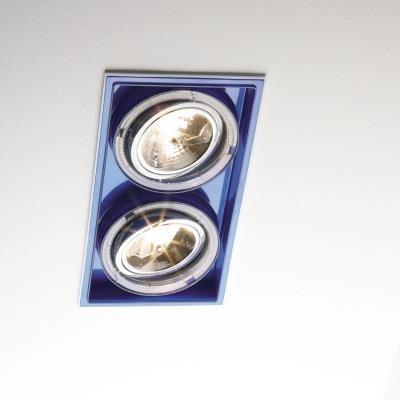 Marset Sqaxis 19.2 Low Voltage MR A606-030 Weiß / Blau