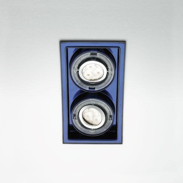 Marset Sqaxis 19.2 Low Voltage MR A606-033 Schwarz / Blau