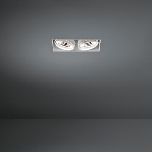 Modular Lighting Mini Multiple Trimless MO 12531029 Weiße Struktur / Schwarz