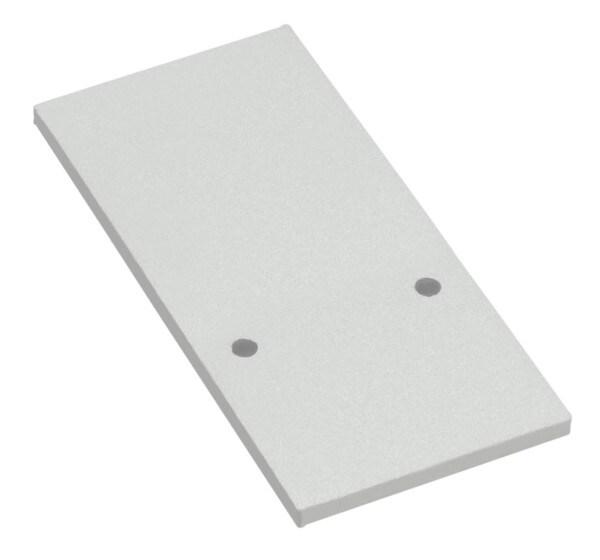 Uni-Bright Accessoires END CAP UB L69HS1EW Weiß