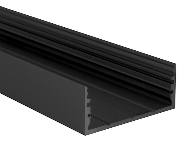 Uni-Bright Profiles L-Line Low UB L69F00LBX Schwarz