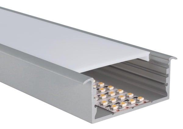 Uni-Bright Profiles L-Line Recess UB L69F00R Eloxiertem aluminium