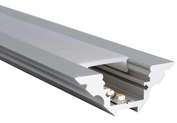 Uni-Bright Profiles M-Line Corner UB L69D000 Eloxiertem aluminium